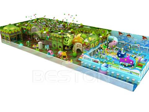 Jungle Themed Indoor Playground