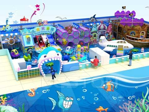 Ocean Theme Indoor Playground