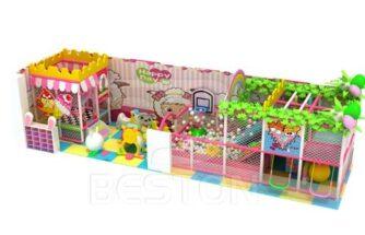 Candy Theme Indoor Playground Equipment