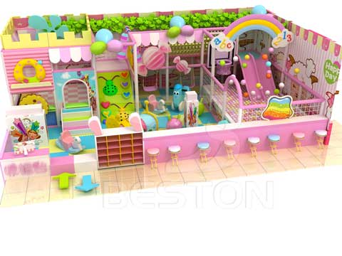 Candy Themed Indoor Playground